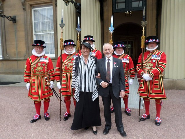 With the Beefeaters