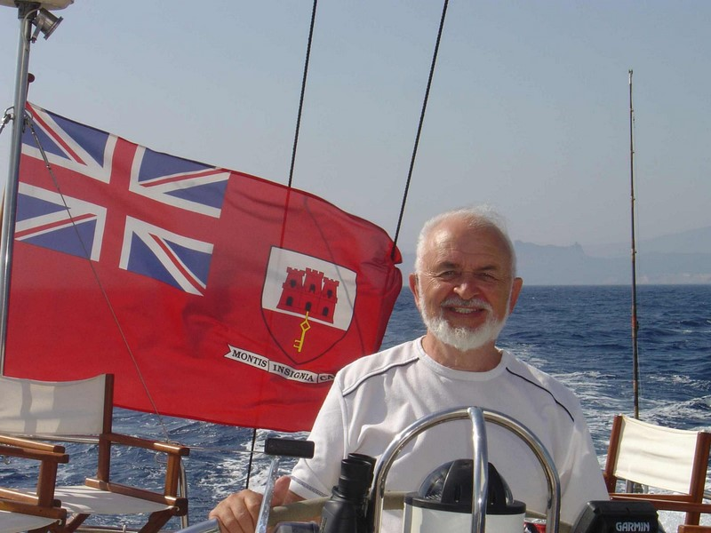 I really did sail from Corsica to Sardinia !