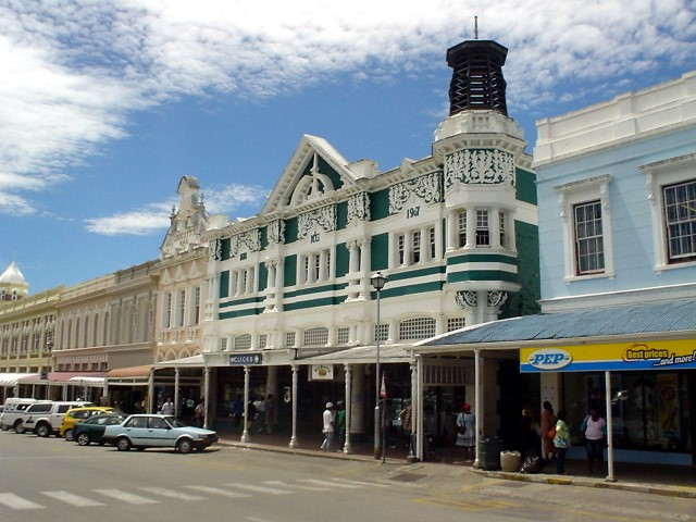 Grahamstown main street