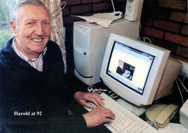 Harold 92 on his PC