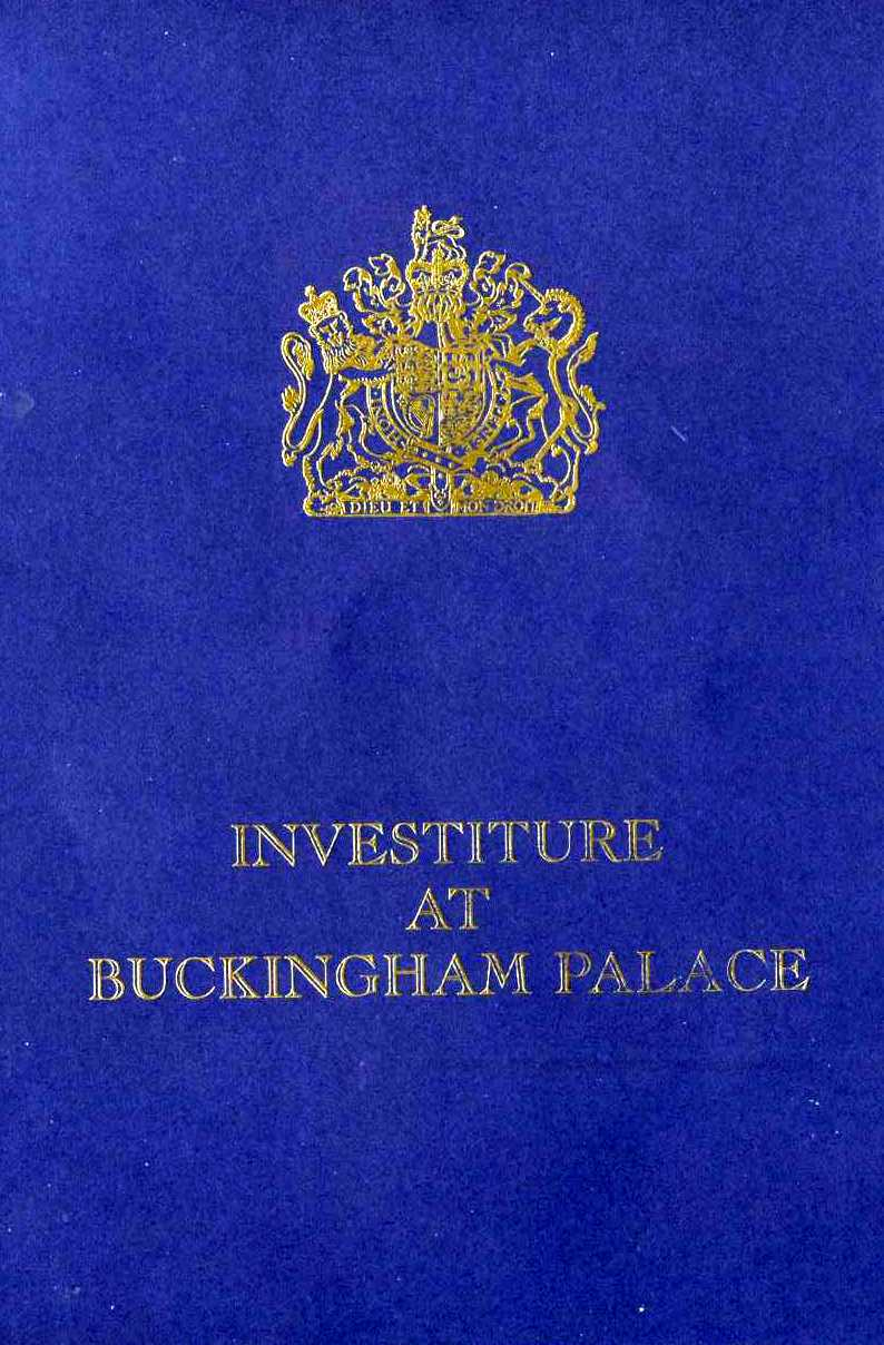 Investiture booklet