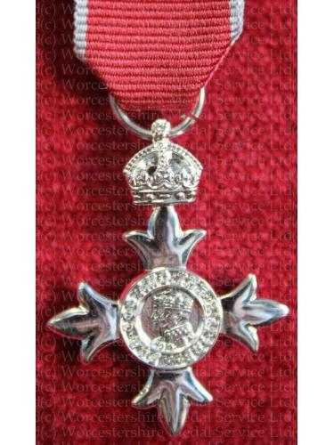 The MBE medal