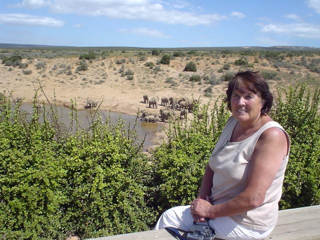Pat at Addo Elephant Park