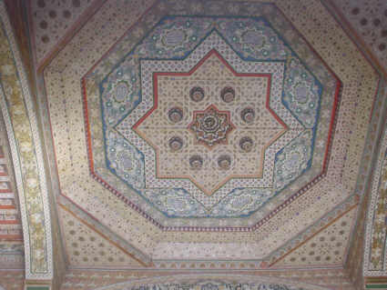 Ceiling in the palace