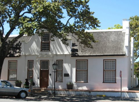 Stellenbosch old architecture