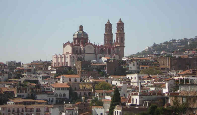 The chuch at Taxco