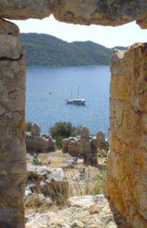 From Kekova Castle (Simena)