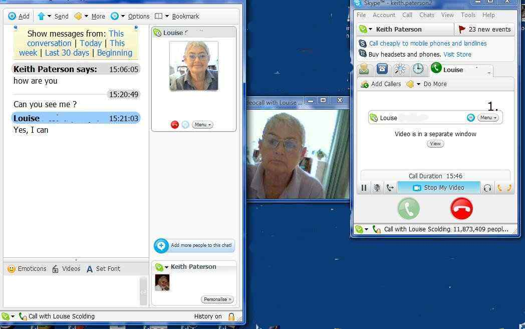 Using a webcam with Skype. Visual clues In a recent study to decide whether ...